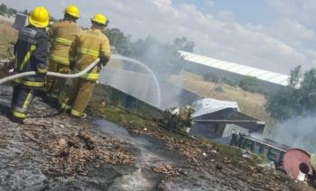 Explota polvorín en Zumpango; una persona murió