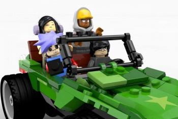 Gorillaz en Lego y comic