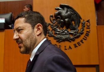 Sin el apoyo de Morena no me postularé para la presidencia del Senado: Batres