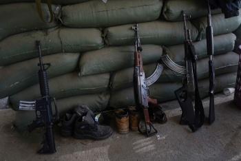 Aseguran arsenal de armas en Tamaulipas