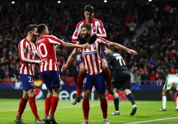 Herrera y el Atlético de Madrid sellan el pase a octavos en la Champions