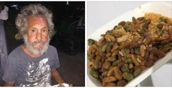 En Quintana Roo hombre indigente pide comida; le dan un plato con croquetas