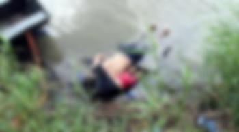 Hallan cuerpos de hombre e hija salvadoreños en el Río Bravo