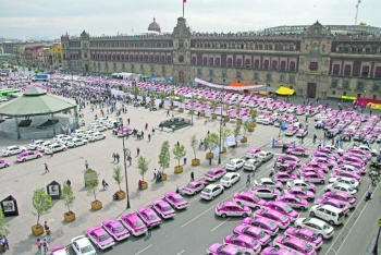 Pese a alza de robos en taxis, Orta no implementa medidas