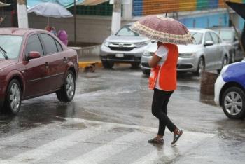 Frente frío provocará lluvias en el sureste del país