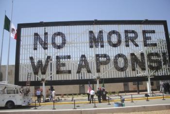Revelan que 80% de armas ilegales provienen de EU