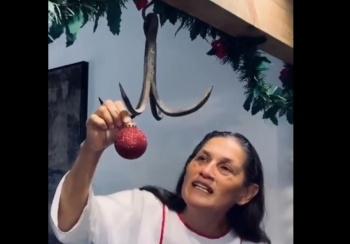 Jesusa arremete contra la navidad
