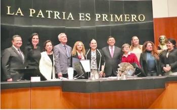 Senado elige a Mara Gómez como titular de la CEAV