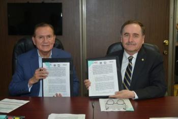 Firman INIFED y UNAM convenio de colaboración en materia de infraestructura educativa
