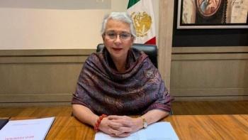 Sánchez Cordero felicita propuesta de Rosa Icela en SSPC
