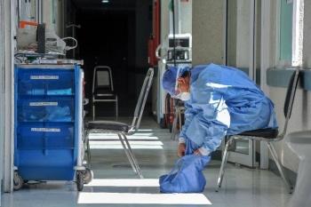 Trabajadores del Hospital la Perla en Nezahualcóyotl amenazados para no dejar de laborar