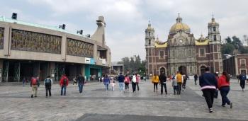 """Por afluencia y previo cierre de Basílica de Guadalupe, autoridades implementan """"Peregrino Quédate en Casa"""""""