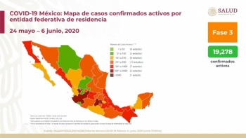 CDMX, Edomex y Baja California estados que más muertes registran por Covid