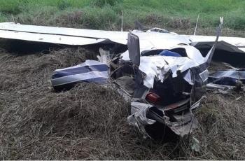 Avioneta con cocaína se estrella en Guatemala; mueren dos mexicanos