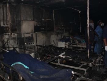 En India, mueren 5 personas tras incendio en hospital Covid-19