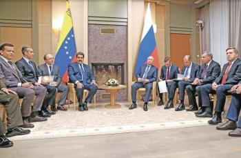 Maduro le da a Putin derecho de explotar 2 yacimientos gasíferos