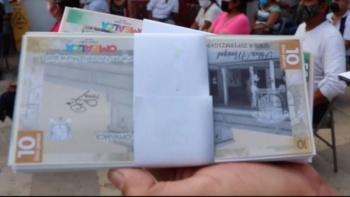 Omealca, Veracruz lanza billetes para incentivar economía local
