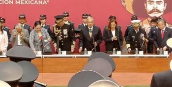 Fuerzas Armadas refrendan su lealtad al Presidente