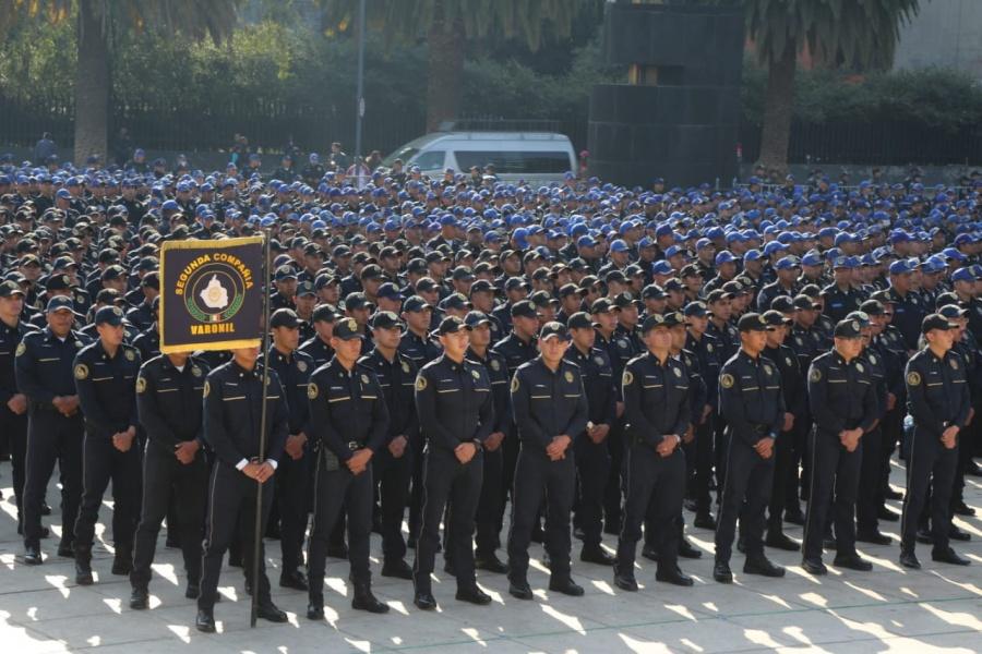 SSC-CDMX integra a más de tres mil policías a la Estrategia de Cuadrantes