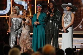 La música siempre me ha ayudado a contar mi historia, asegura Michelle Obama en los Grammy