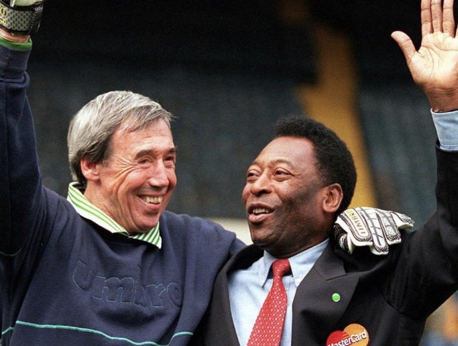 Pelé lamenta la pérdida de su gran amigo Gordon Banks