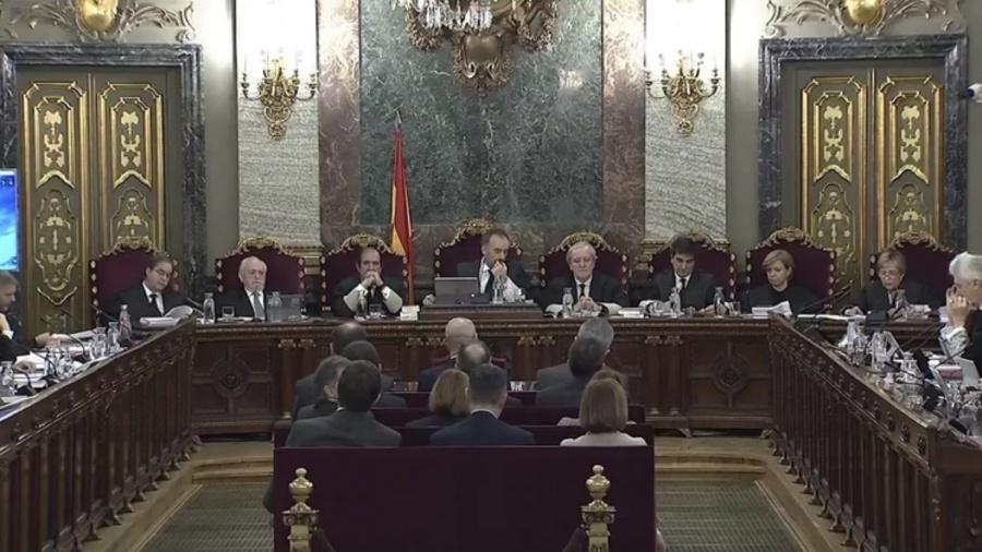 Inicia hoy juicio contra 12 separatistas catalanes