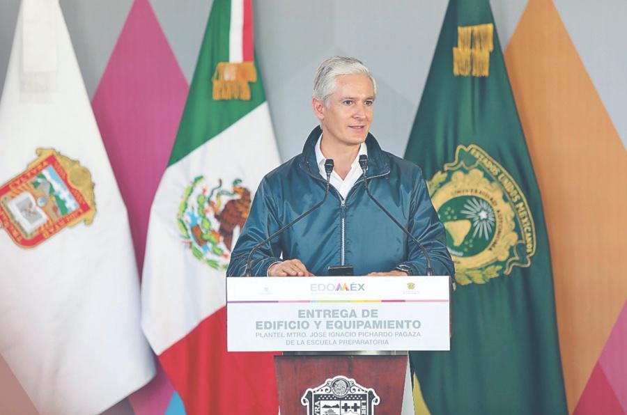 Del Mazo destaca logros contra inseguridad en EDOMEX