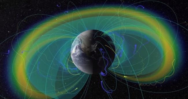 Científicos descubren que el plasma que choca contra la magnetosfera terrestre suena como un tambor gigante interespacial