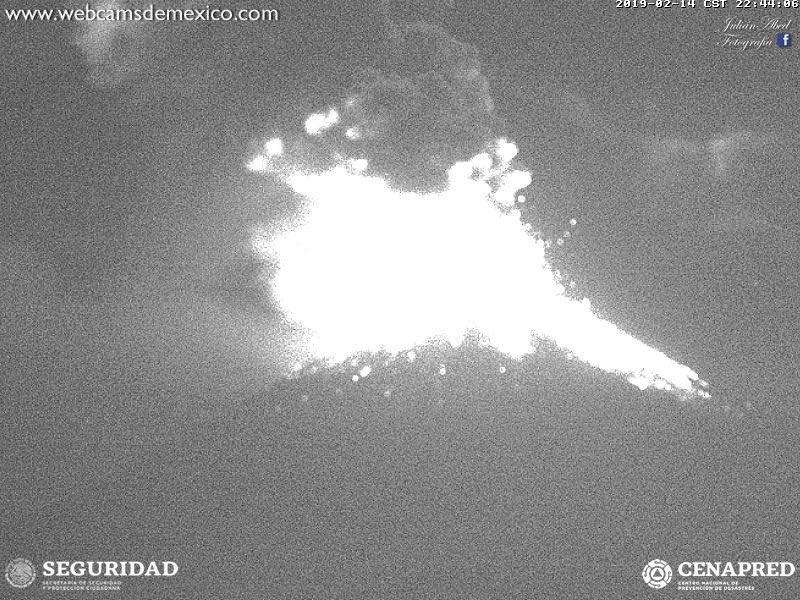 El Popocatépetl hace una exhalación de más de mil metros; se prevé la caída de ceniza