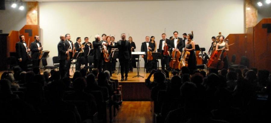La OCBA conquista al público del Palacio de Bellas Artes