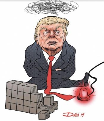 Trump va por muro con fondos del Congreso y de Emergencia