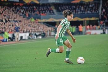 Lainez anota su primer gol con el Real Betis