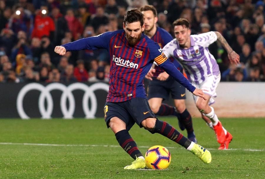 Tras apretado encuentro, Barcelona vence al Valladolid