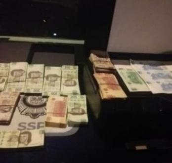 Elementos del SSC detienen a dos ladrones y recuperan 810 mil pesos