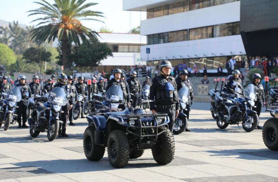 Refuerzan seguridad con 140 motopatrullas en la Gustavo A. Madero