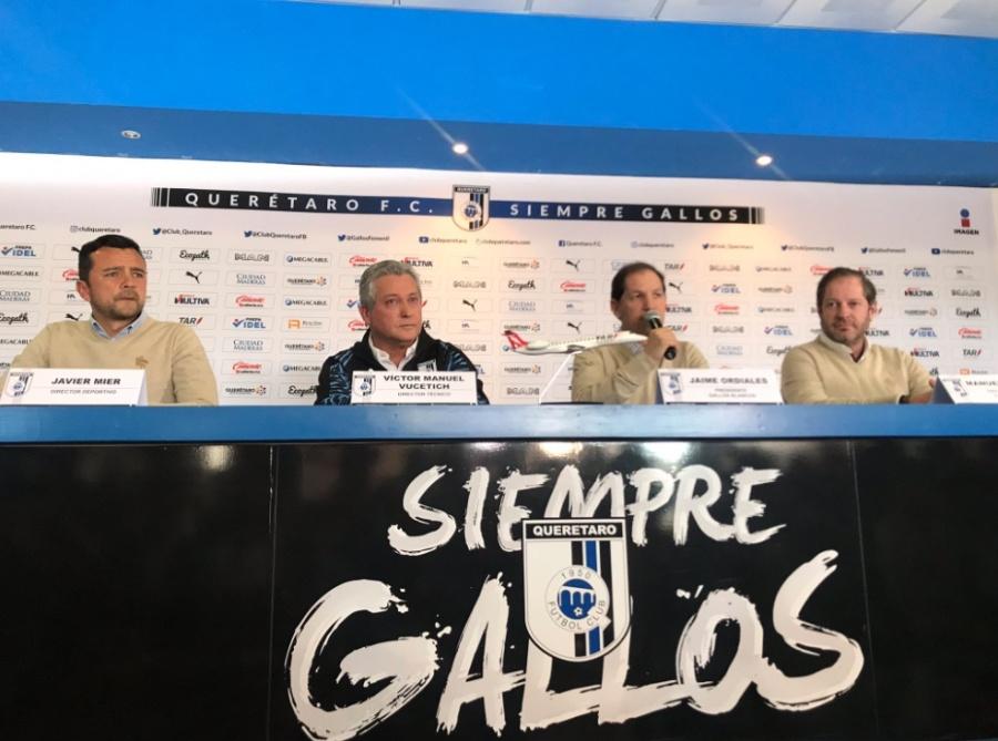 Víctor Manuel Vucetich es el nuevo DT del Querétaro