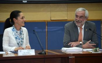 UNAM y Ciudad de México buscan reforzar proyectos en beneficio de la capital