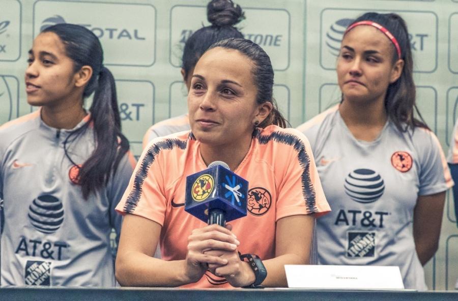 Ana Galindo anuncia su salida del América Femenil