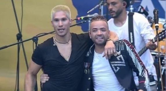 Chino y Nacho se reencuentran en el Venezuela AID Live