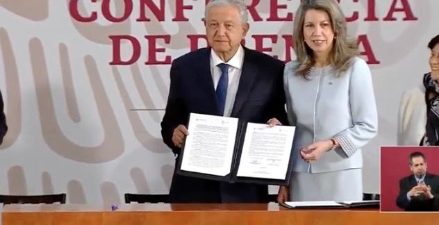 ONU, UNESCO y AMLO firman acuerdo para evitar daños por termoeléctrica, en Morelos
