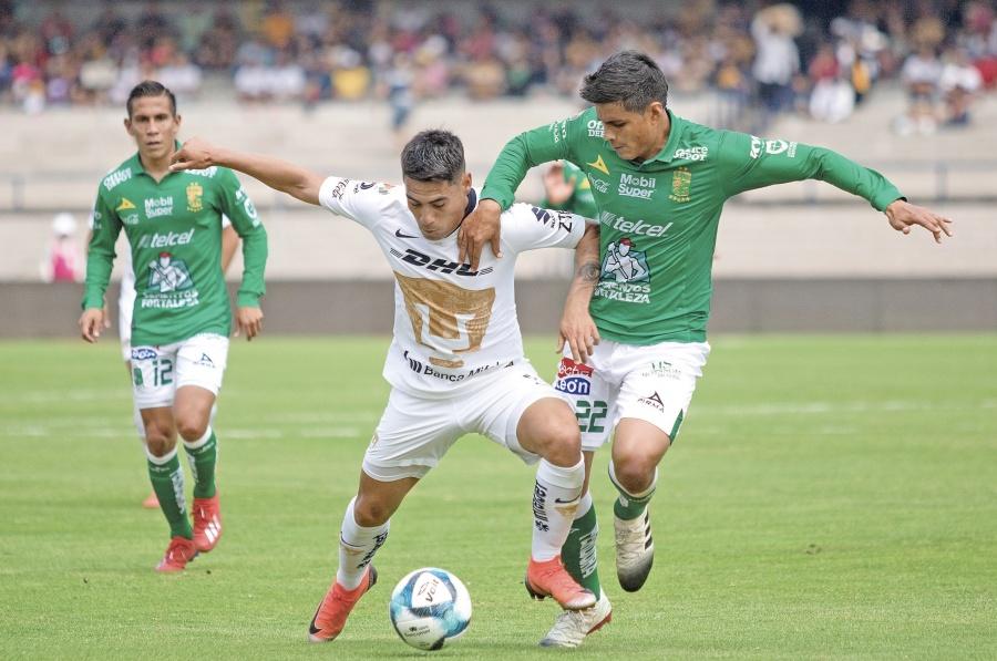 León firma su quinta victoria al hilo, tras golear a Pumas