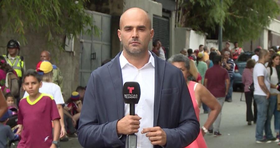 Liberan al periodista Daniel Garrido tras haber sido secuestrado en Caracas