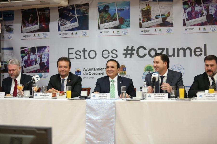 Sector empresarial y el Gobierno Federal, juntos en la promoción turística de México