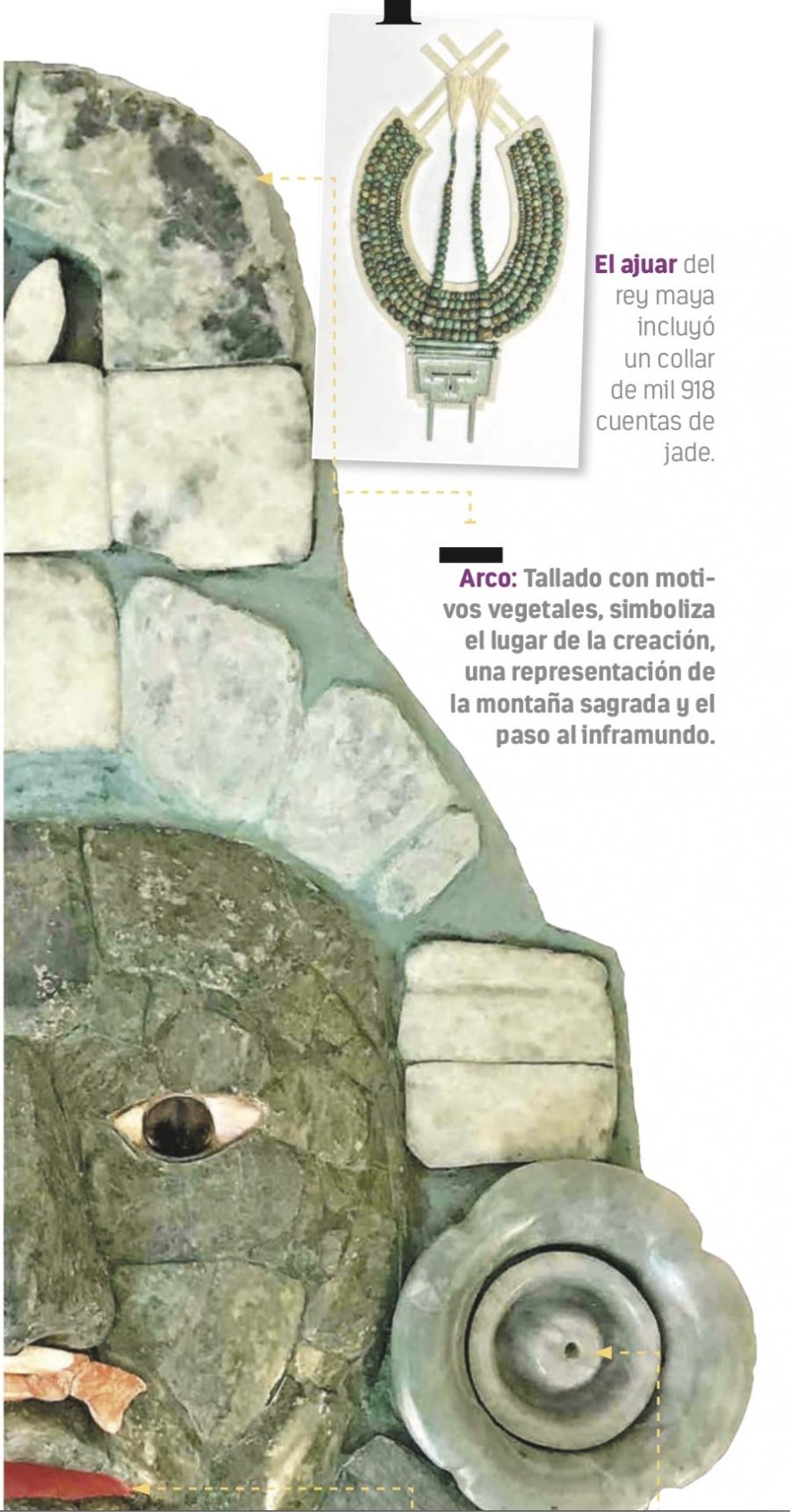 Réplica de la máscara de Calakmul impacta en España