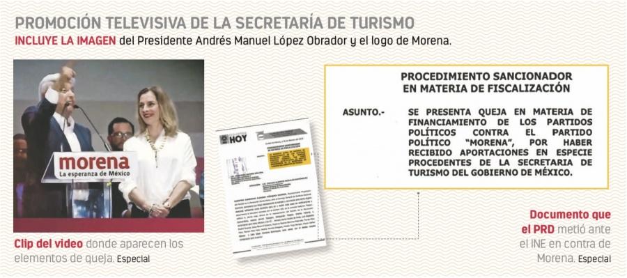 Oposición advierte que spot de Sectur es delito electoral