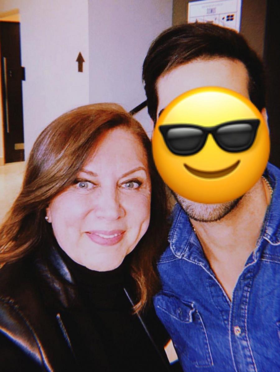 Mamá de Eiza González mantiene noviazgo con un joven actor