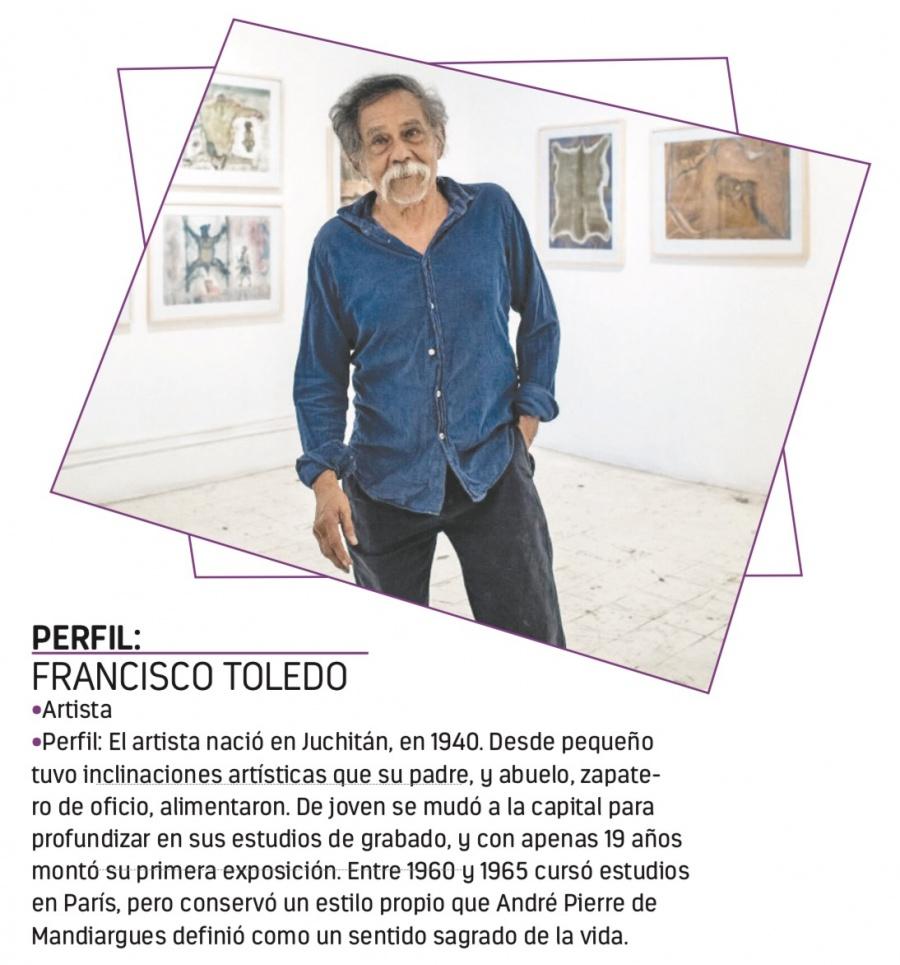 Inspirado en cuentos y relatos, Toledo expone su obra más reciente