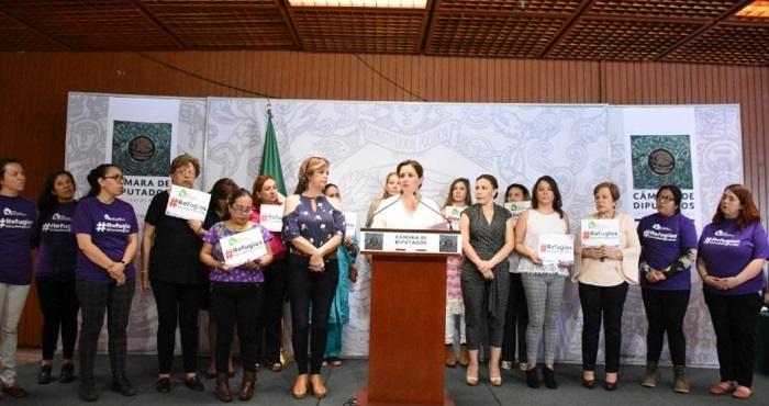 Diputadas y organizaciones sociales esperan que AMLO rectifique sobre recursos en apoyo a mujeres víctimas de violencia