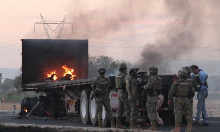 Operativo en Guanajuato, desata violentos enfrentamientos
