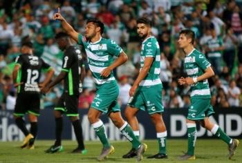 Santos busca aventajar a Red Bulls en cuartos de final de la Concachampions